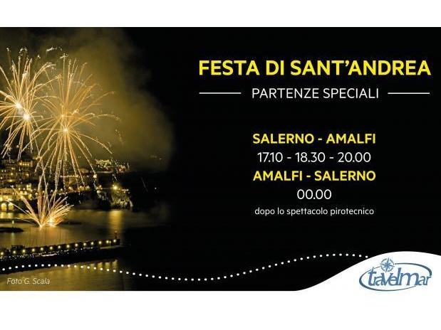 La Festa di Sant'Andrea ad Amalfi: un connubio di folklore e spiritualità.